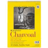 "Strathmore Series 300 Charcoal Paper Pad - 9"" x 12"""